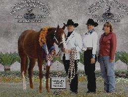Multiple Futurity Champion